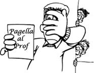 Pagella al prof